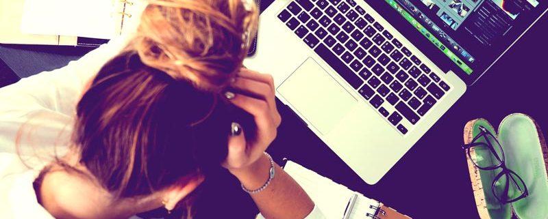 Exam Stress - student